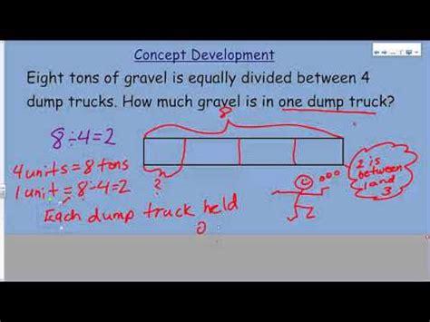 eureka math module  lesson  tape diagrams  model