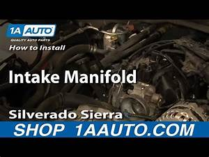 How To Remove Intake Manifold 1999 Gmc Suburban 1500