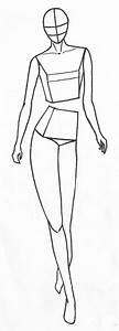 Free Fashion Figure Templates Are Here ! | Enter your blog ...