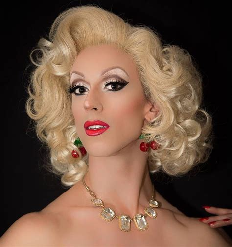 femme dressing photo fi love my makeup blonde curly