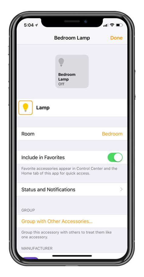 How to Group HomeKit Accessories Together and Control them ...