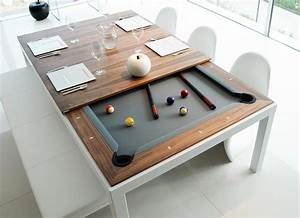 Dining and pool table combination fusion tables for Dining pool table