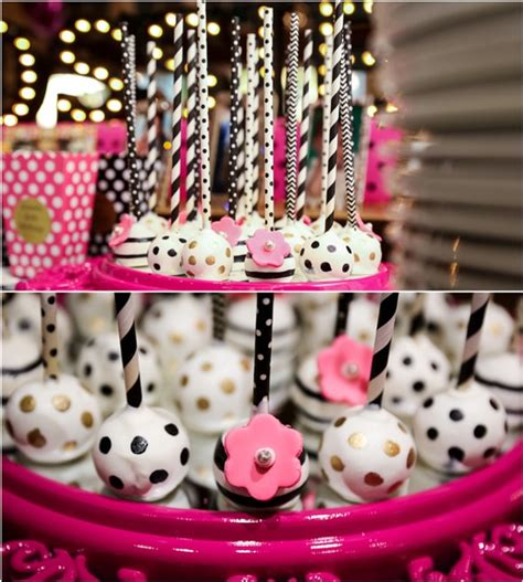 kate spade inspired  birthday