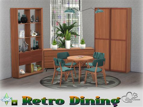 Buffsumm's Retro Diningroom