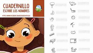 Cuadernillo para ESCRIBIR LOS NOMBRES : PDF Gratuito