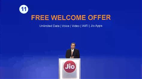 reliance jio launched cheapest 4g data rates in the world unlimited voice calls free forever