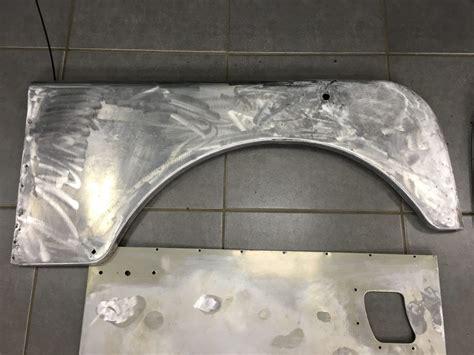 land rover series  body panel repairs bridge classic