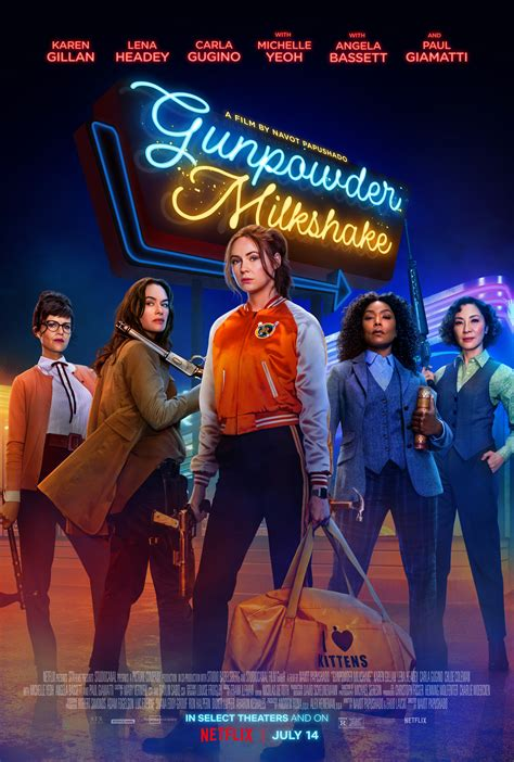 gunpowder milkshake  poster