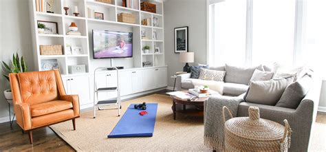 Living Room Exercises by This Is How I Made My Living Room Into A Cheap Secret