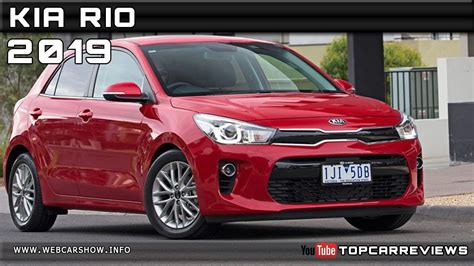 2019 Kia Rio Review Rendered Price Specs Release Date