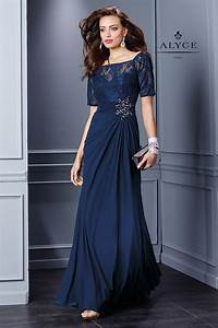 I just LOVE this! Elegant Evening Gown with Lace Short ...