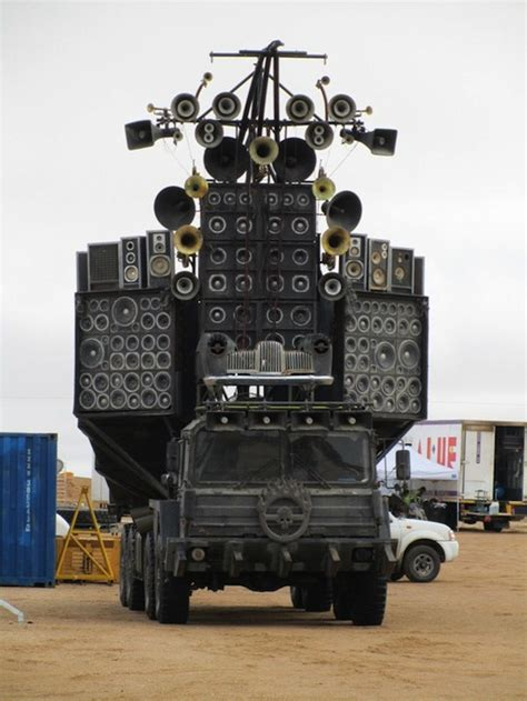 how long does a monster truck show last mad max 4 fury road speaker truck 1 by maltian on