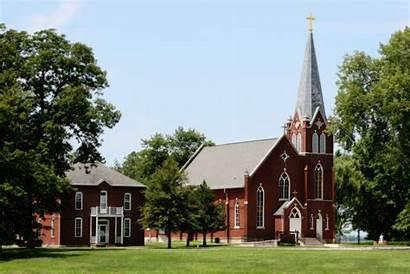 Kaskaskia Church Illinois Conception Immaculate Wikipedia Jesuits