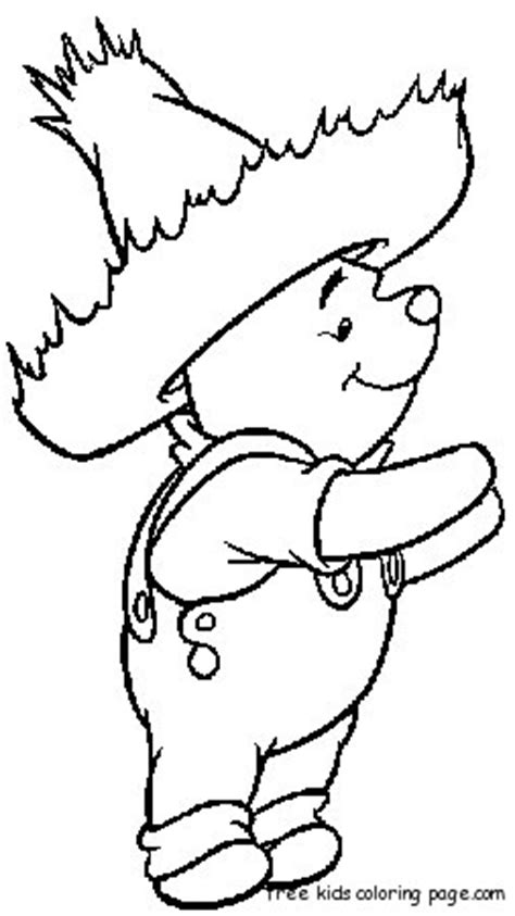 coloring pages  winnie  pooh charactersfree printable