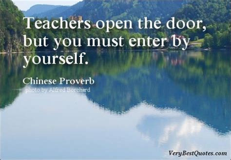 learning quotes teachers open  door collection