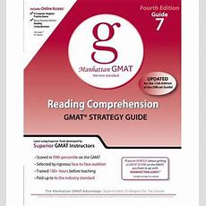 Reading Comprehension Gmat Preparation Guide  Manhattan Gmat 9780982423851