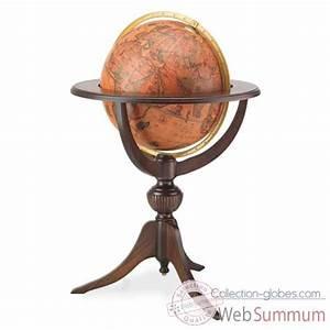 Globe Terrestre En Bois : globe terrestre zoffoli sur collection globes ~ Teatrodelosmanantiales.com Idées de Décoration