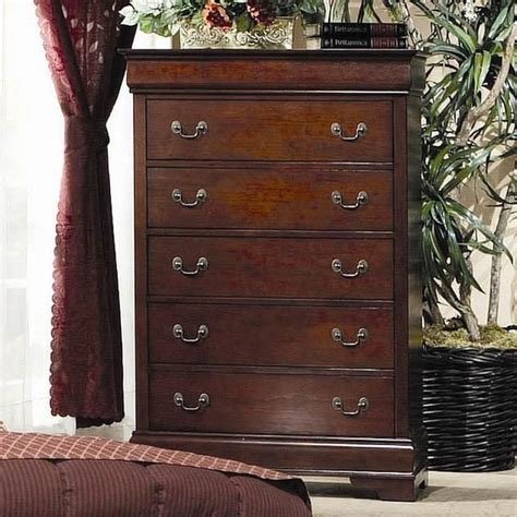 cherry chest of drawers louis philippe cherry wood chest of drawer a sofa