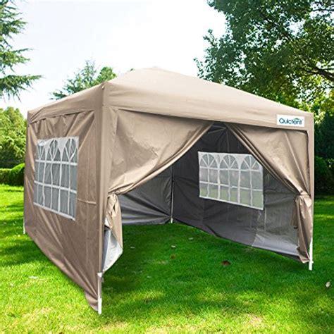 quictent silvox ez pop canopy tent party tent sidewalls roller bag waterproof