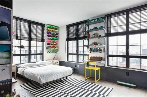 chambre ado urbain bel appartement à au design éclectique vivons