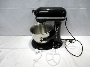 Kitchenaid Professional 6000 Hd Attachments by Kitchenaid Professional 6000 Hd 6 Quart Onyx Black Stand
