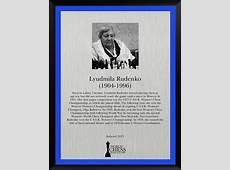 Lyudmila Rudenko World Chess Hall of Fame
