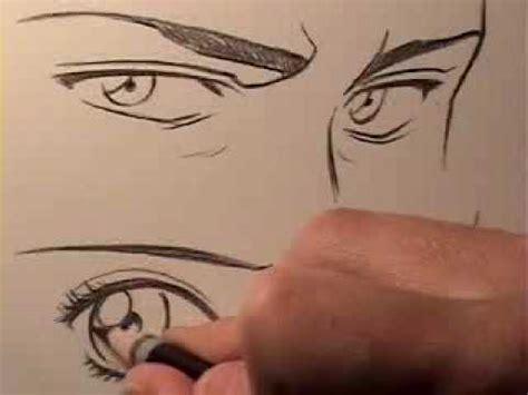 cat s eye anime vs manga how to draw manga eyes male vs female youtube