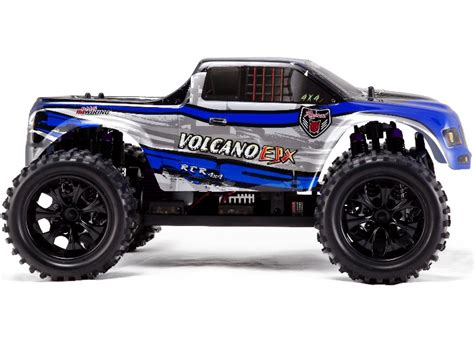 Rc Waterproofing Mount Morris Mi 1 10 Redcat Volcano Epx Blue Silver Rc Electric Truck