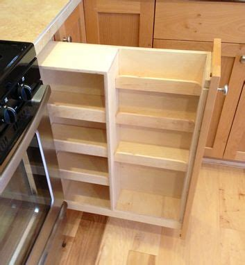 Custom Spice Rack by Handmade Pull Out Spice Rack By Noble Brothers Custom