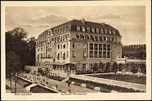 Alte Herberge Springe : ansichtskarte postkarte bad eilsen niedersachsen blick auf das kurhotel f rstenhof ~ Frokenaadalensverden.com Haus und Dekorationen