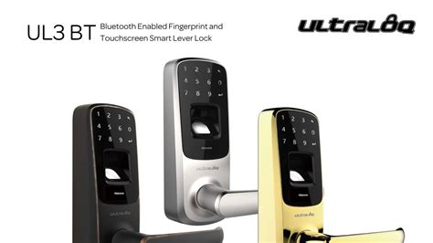 ultraloq ul3 bt bluetooth ultraloq ul3 bt bluetooth enabled fingerprint and 6483