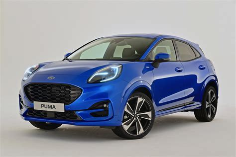 ford puma small suv  official debut auto