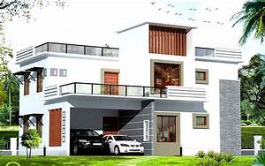 White exterior house color schemes with modern garage for White color house design outside