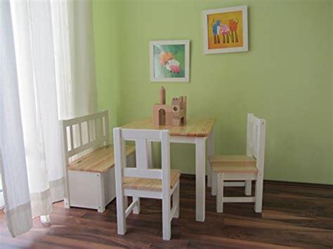 kindersitzbank mit tisch wei 223 kinderst 252 hle und weitere st 252 hle g 252 nstig kaufen bei m 246 bel garten