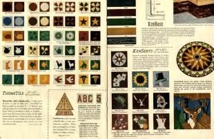 1950s kentile decorative floor tiles retro renovation