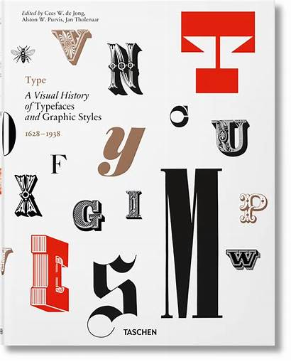 Type Graphic History Styles Typefaces Visual Taschen