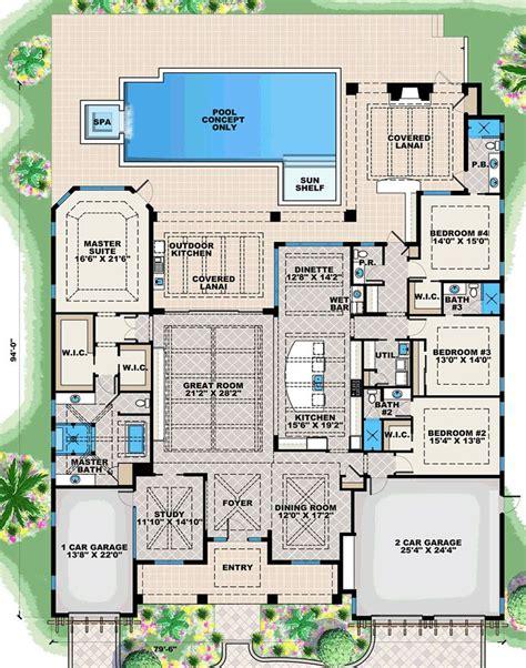 coastal florida house plan