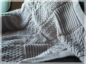 plaid a tricoter modele gratuit
