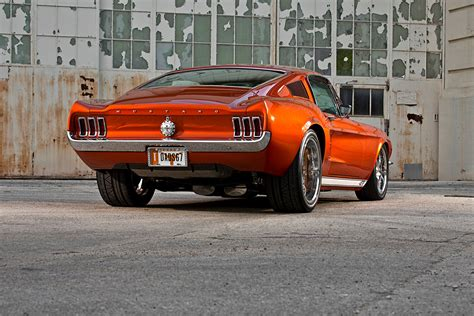 wide ride a custom 1967 widebody mustang fastback
