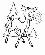 Rudolph Reindeer Nosed Coloring Nose Drawing Drawings Printable Sheet Clipart Flying Merry Cartoon Holiday Cliparts Library Father Clip Bestcoloringpagesforkids Popular sketch template