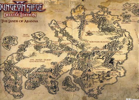 dungeon siege map image aranna jpg dungeon siege wiki fandom powered
