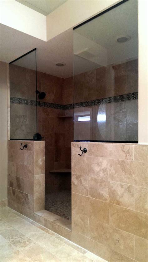 open shower american glass mirror
