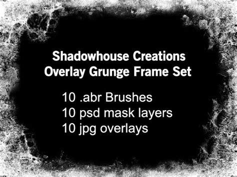 Shadowhouse Creations: Shadowhouse Creations Grunge Frame Sets