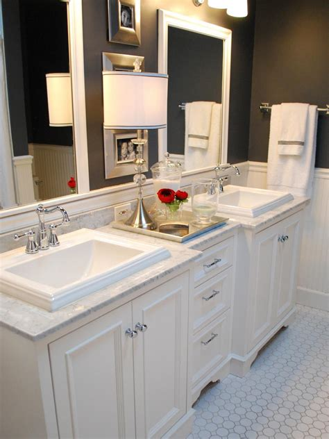bathrooms ideas black and white bathroom designs hgtv