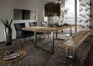 designer tisch tischfabrik24 massivholz sitzbank