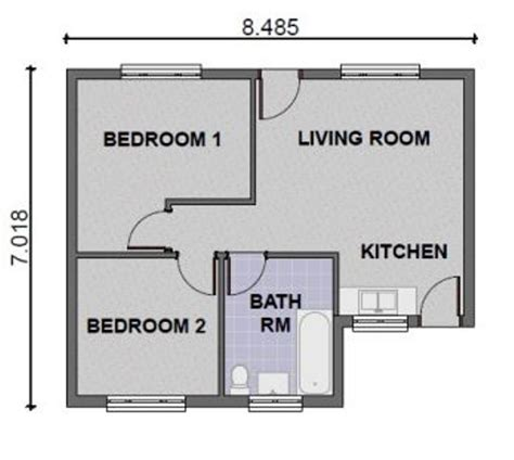 simple 2 bedroom house plans home designs 2 bedroom house plans modern house plans