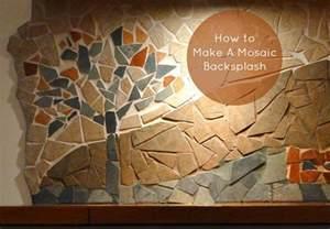 do it yourself backsplash kitchen how to a mosaic backsplash