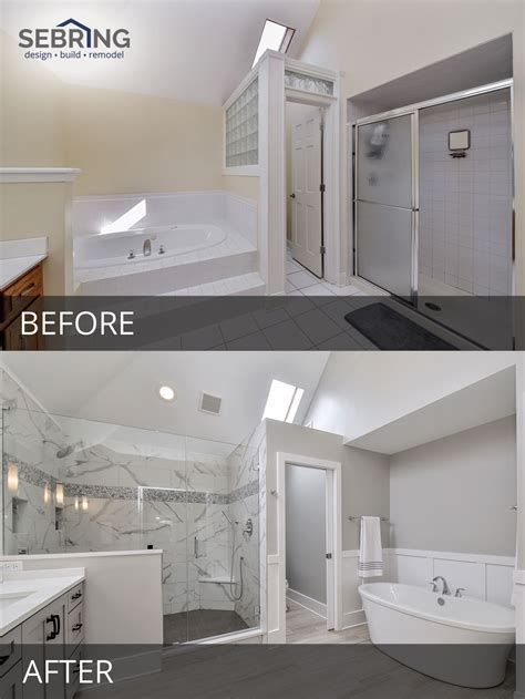 Sarah & Ray?s Master Bathroom Before & After Pictures