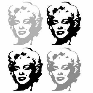 Marilyn Monroe Bilder Schwarz Weiß : wandtattoos schilder piktogramme von wandtasie wandtattoo marilyn ~ Bigdaddyawards.com Haus und Dekorationen