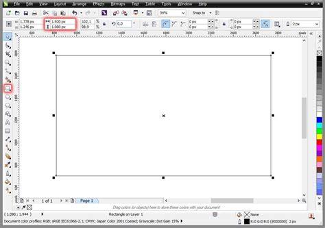 Coreldraw Tutorial Vertical Stretch Zoom Text Effects